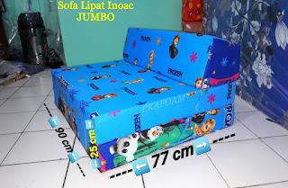 Sofa lipat jumbo posisi sofa