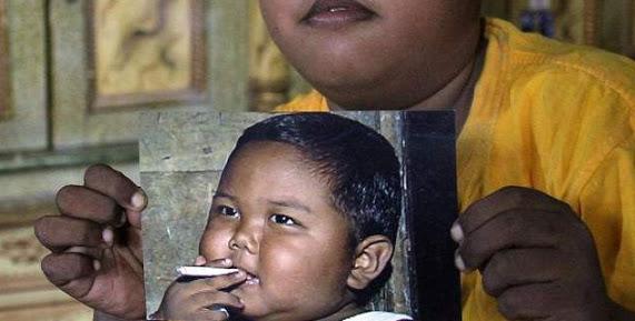 Πώς είναι σήμερα το παιδί που από τα 2 του κάπνιζε μανιωδώς, 40 τσιγάρα την ημέρα