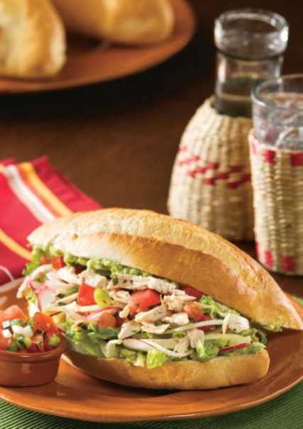 Chicken Tortas Recipe