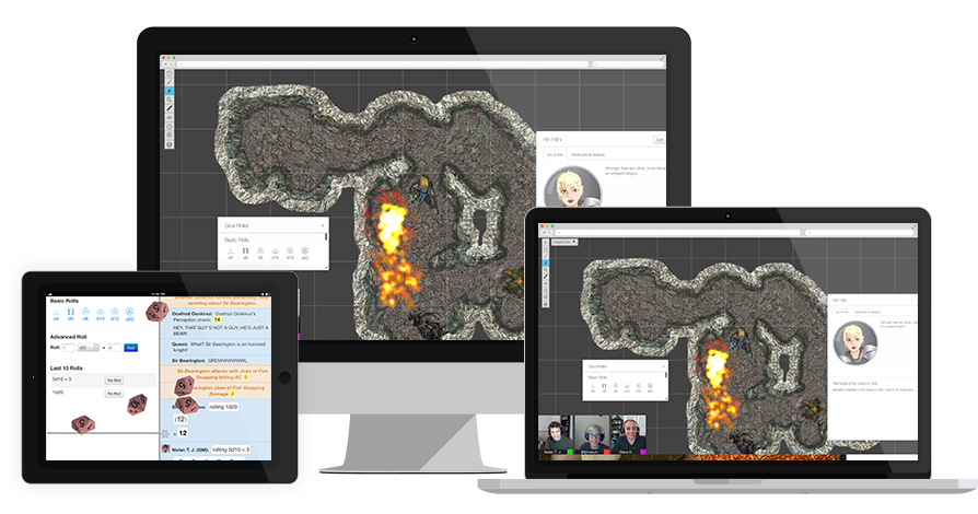 Tenkar's Tavern: Roll20 Article on Slate - Welcome to the