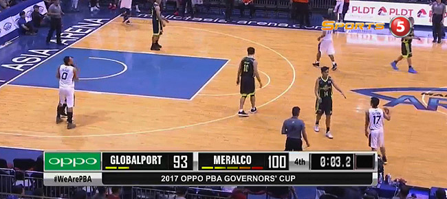 Meralco def. GlobalPort, 100-93 (REPLAY VIDEO) September 22