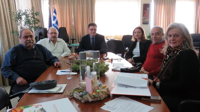 Σύσκεψη του Αντιπεριφερειάρχη Έβρου με τους βουλευτές Έβρου του ΣΥΡΙΖΑ για την αξιοποίηση του παλιού Νοσοκομείου Αλεξανδρούπολης