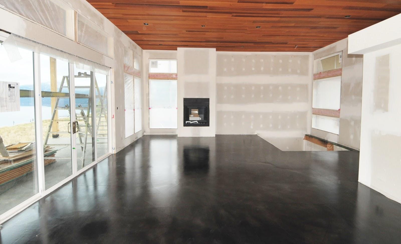 MODE CONCRETE: Black Acid Stained Modern Concrete Floor ...