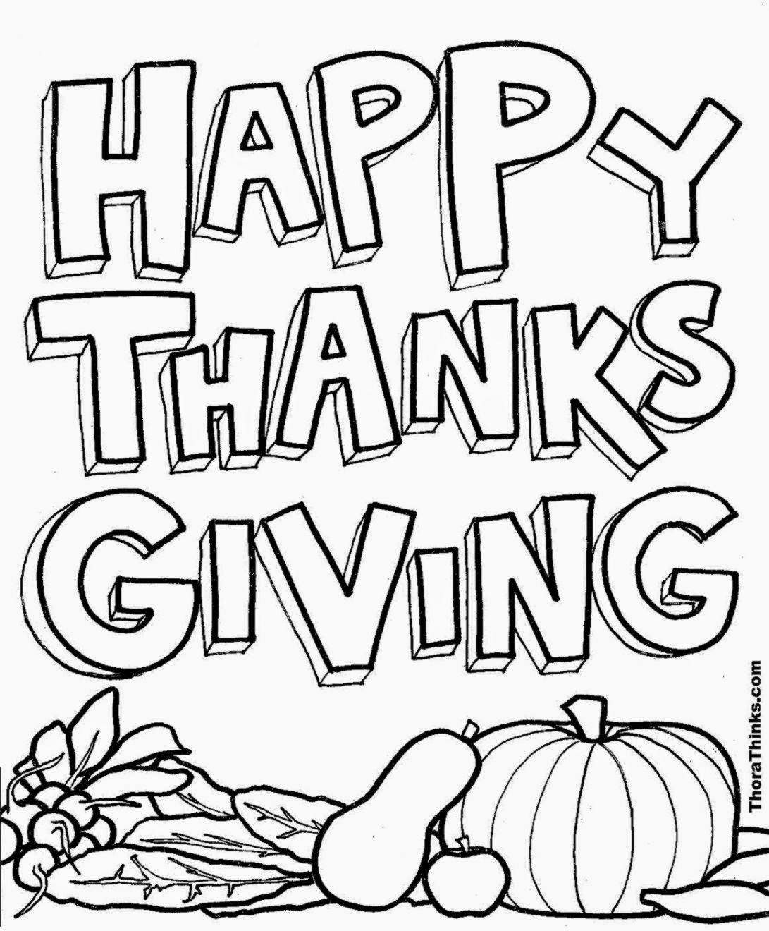 Thanksgiving coloring pictures for kids free coloring for Thanksgiving color pages free