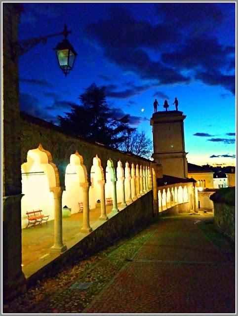 La salita del castello di Udine