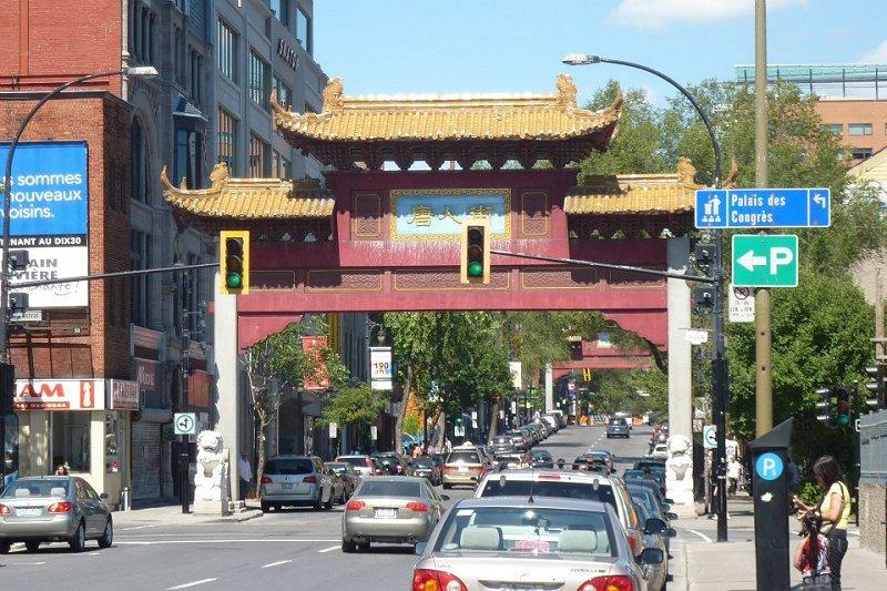 Chinatown Montreal Canada