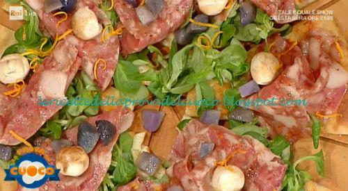 Pizza tié mettice una pezza ricetta Ruffini da Prova del Cuoco