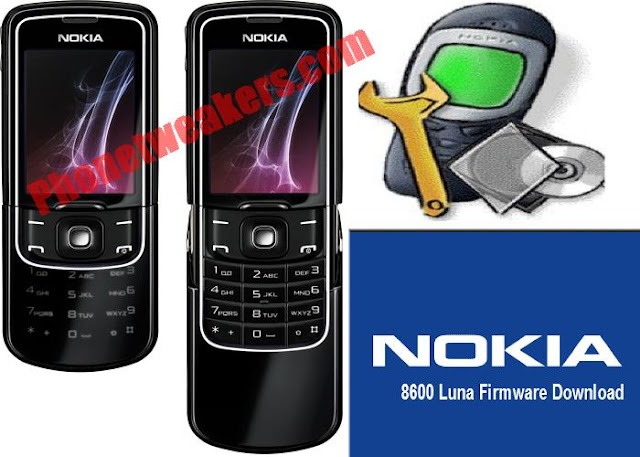 Nokia 8600 Luna Slide Latest Firmware Download