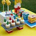 Adding A Lego Cake With Lego Party Supplies