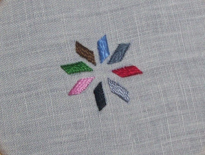 Satin Stitch - Punto piatto