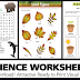 SCIENCE WORKSHEETS (Useful Materials)