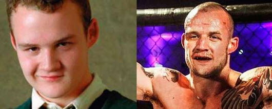 Actor de 'Harry Potter', irreconocible en su faceta como luchador