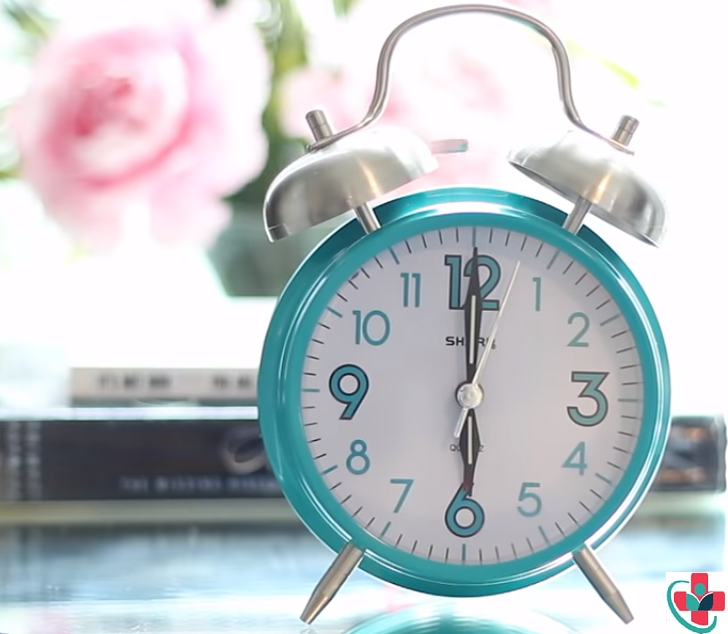 True—it's better to wake up to natural light than an alarm clock.