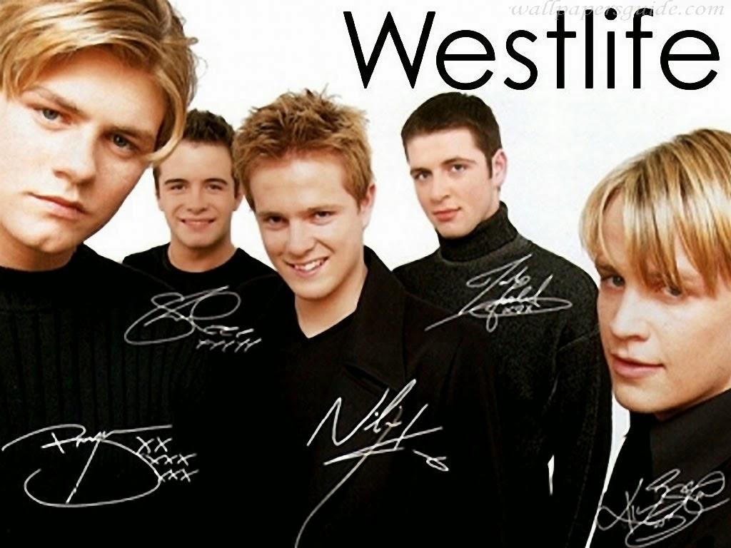 Foto boyband Westlife