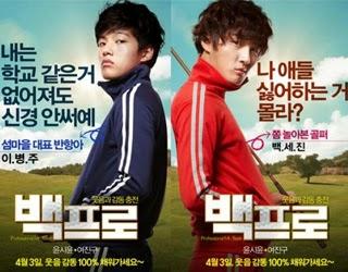 KOREA MOVIE Mr. Perfect / Professional Baek