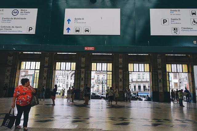 サン・ベント駅(Estação de São Bento)