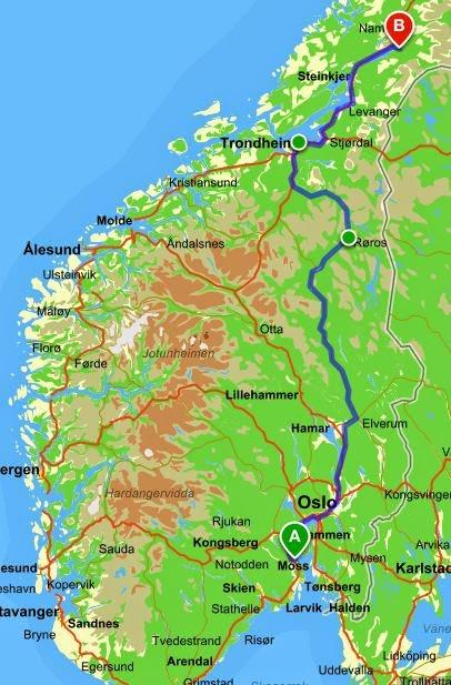 trofors kart Tråkker for Kreftsaken: Dag 6: 24 Juli 2014   Vi sykler mot Trofors trofors kart