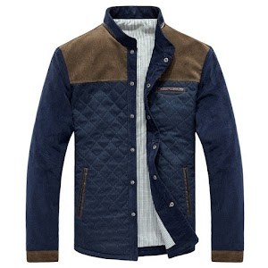 Men Slim Casual Outerwear Jacket