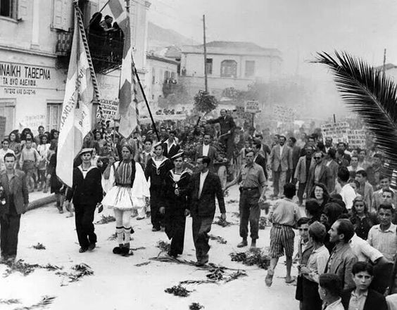 Greece was liberated from Nazi occupation 12 October 1944