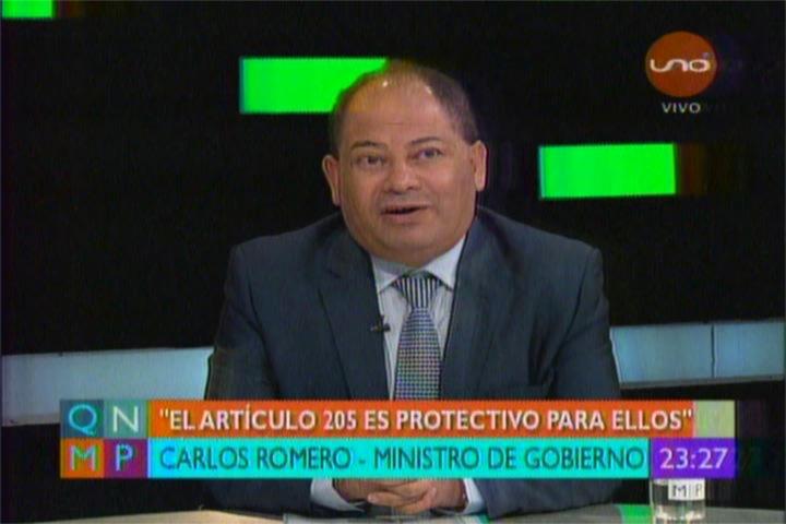 DR. WILLIAMS BASCOPÉ RESPONDE AL MINISTRO ROMERO POR SU COBARDE ALUSIÓN EN QNMP