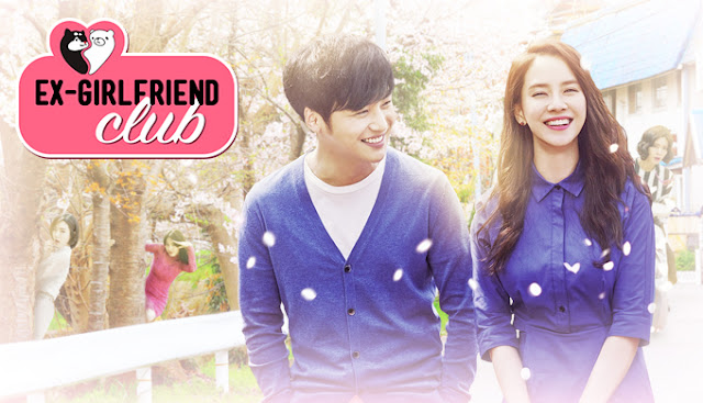 Dia kemudian menulis serangkaian webtoon tentang hubungan masa lalunya Drama Korea Ex-Girlfriend Club Subtitle Indonesia [Episode 1 - 12 : Complete]