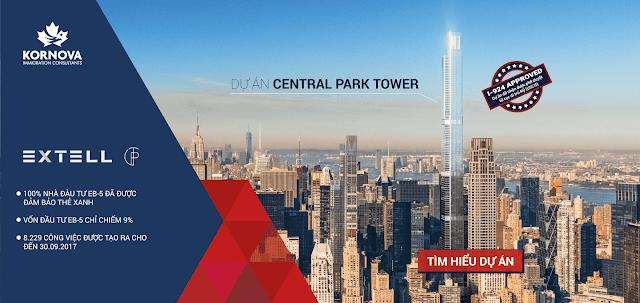 Central Park Tower- dự án EB-5 tỷ đô thu hút các nhà đầu tư