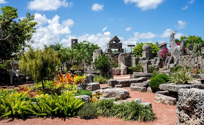 Coral Castle in Miami Florida