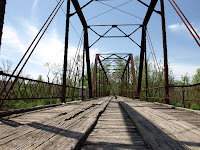Bird Creek Bridge in Avant