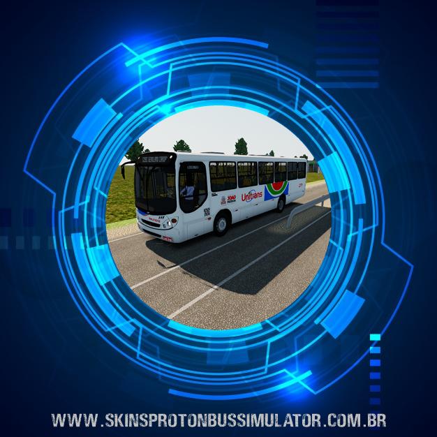 Skin Proton Bus Simulator - Comil Svelto 2000 MB OF-1418 Viação Reunidas