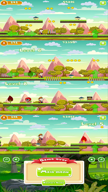 Bigo Adventure Android Game Template Android Studio Project Admob Ads - 1