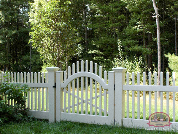 Ideas Amp Design Beautiful Design Of Vinyl Arbor With Gate