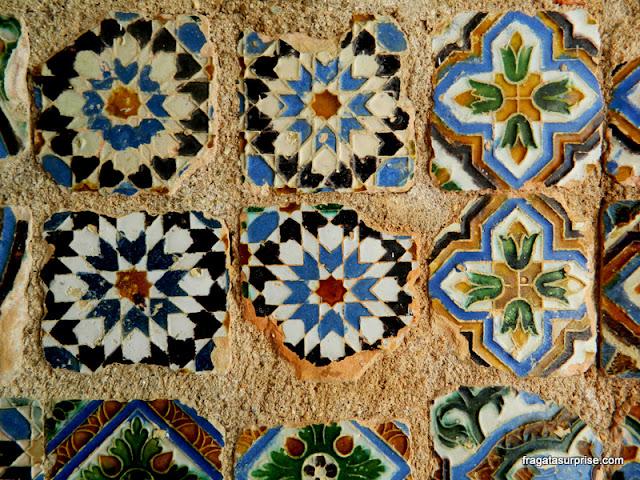 Azulejos árabes no Museu Nacional Machado de Castro, Coimbra