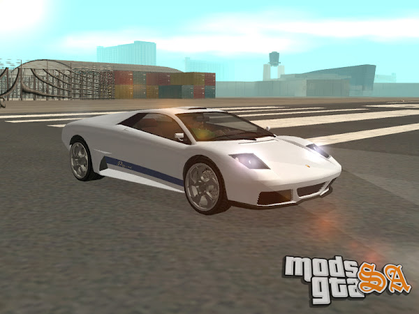 Pegassi Infernus do GTA V para GTA San Andreas