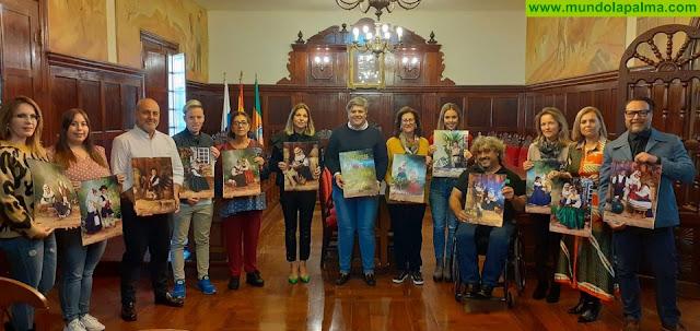 El Ayuntamiento de Los Llanos de Aridane publica por segundo año los calendarios solidarios a favor de las ONGs
