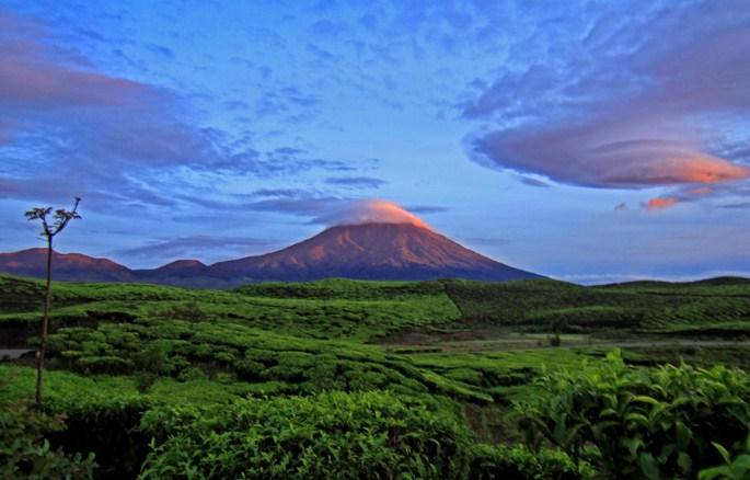 Gunung Kerinci Panorama jambi