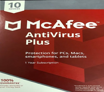 McAfee AntiVirus Plus 2020