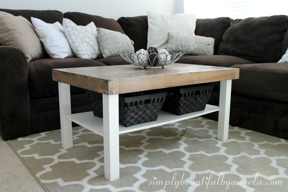 Wondrous Diy Ikea Coffee Table Makeover Loris Decoration Evergreenethics Interior Chair Design Evergreenethicsorg