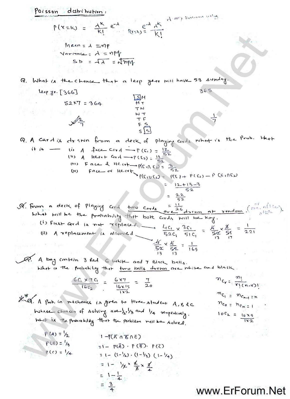 probability-statics-note-3