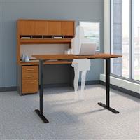 Bush Series C Height Adjustable Executive Desk