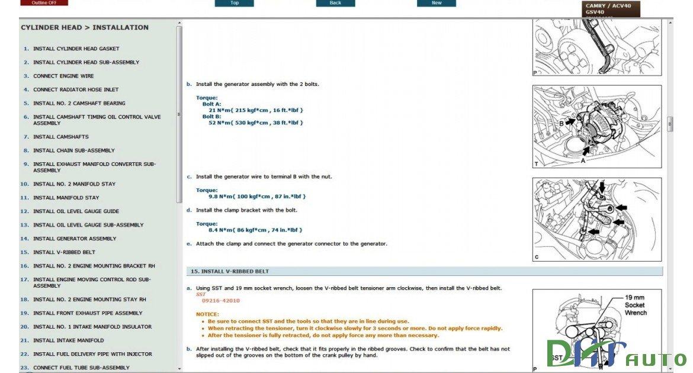 Toyota Camry Service  U0026 Repair Manual Update 2006
