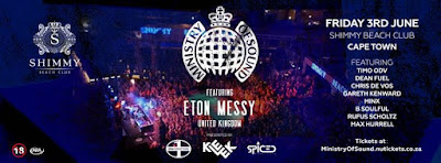 eton messy ministry of sound  event johannesburg cape town 2016