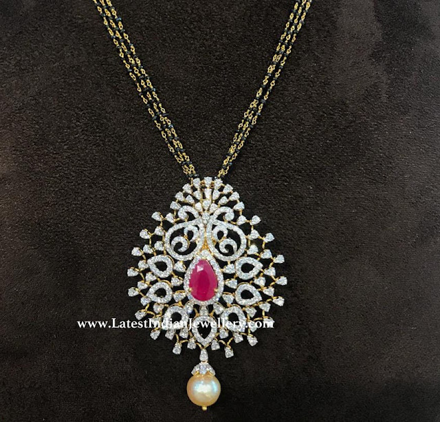 Diamond Pendant for Nallapusalu
