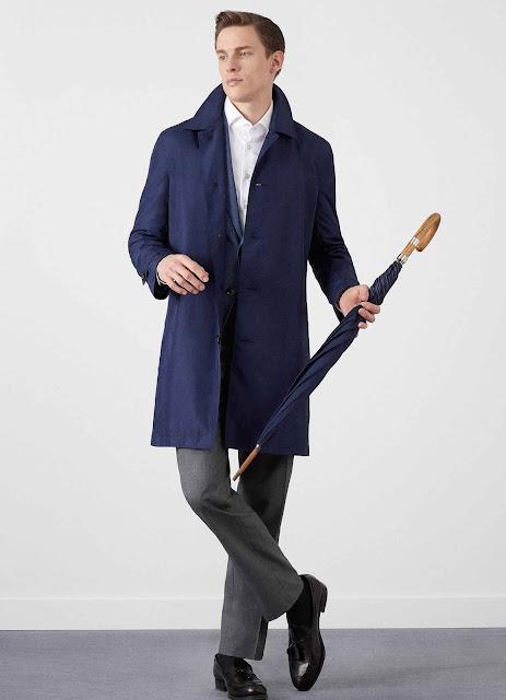 colección de gabardina y paraguas de Hackett y Fox Umbrellas