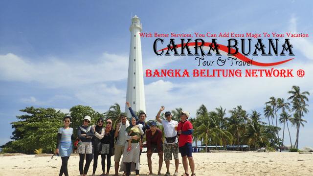 paket tour bangka belitung tanpa hotel
