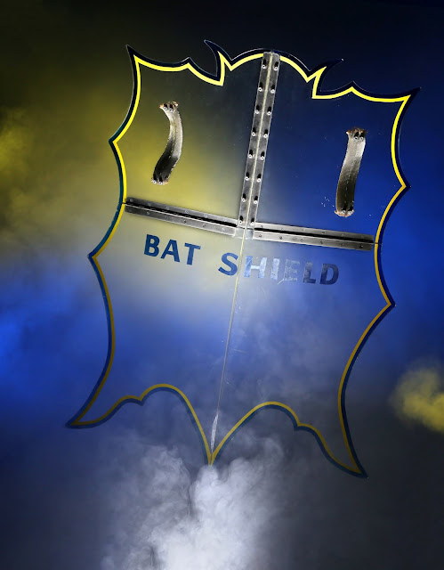 ADAM WEST'S BATMAN BAT SHIELD