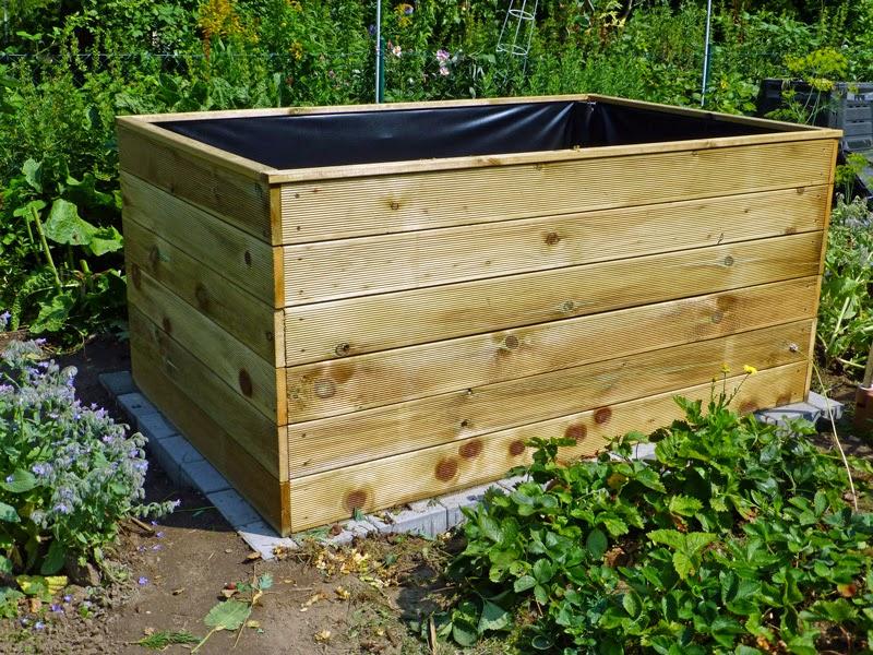 kleingarten blog ich habe ein hochbeet. Black Bedroom Furniture Sets. Home Design Ideas