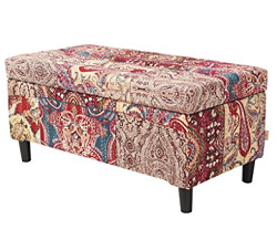 bohemian style furniture. It Is A Mixture Of Textural Patterns \u2013 This Bohemian Style Bench Upholstered In Loud And Bold Prints Different Textures Or Patchwork Fabrics. Furniture N