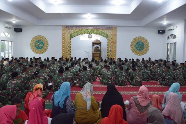 Korem 032/Wbr Gelar Do'a Bersama Dalam Rangka memperingati Hari Kesaktian Pancasila