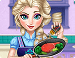 لعبة طبخ ايلزا الجديدة