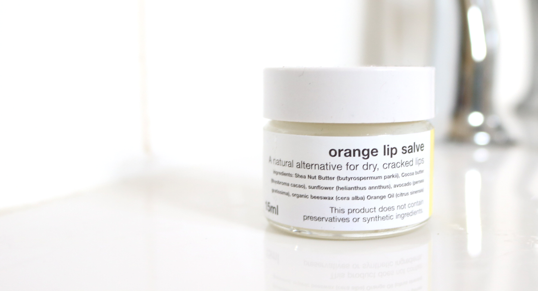 Simply Soaps Orange Lip Salve review